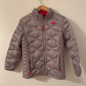 The North Face Gray 550 Puffer Coat